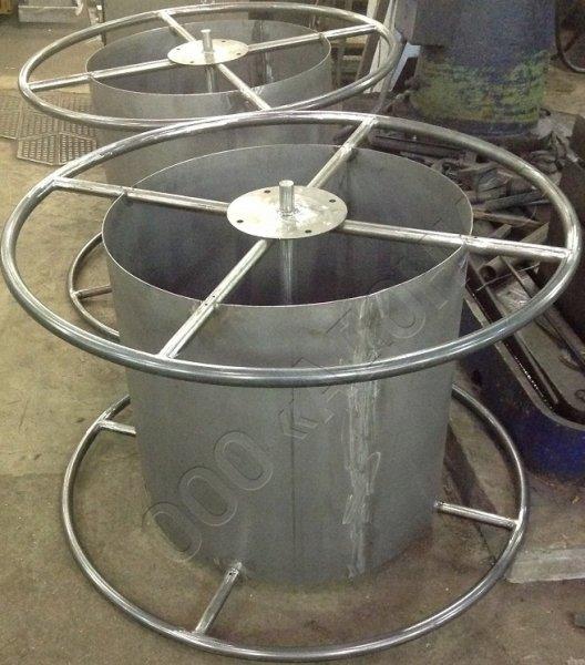 Изготовление металлических катушек для кабеля